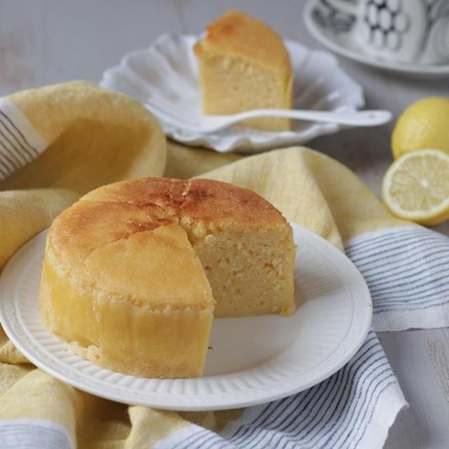 さわやか♪ヨーグルトとレモンのケーキ(米粉)