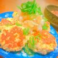 ヘルシー☆鶏胸肉の香草豆腐ハンバーグ