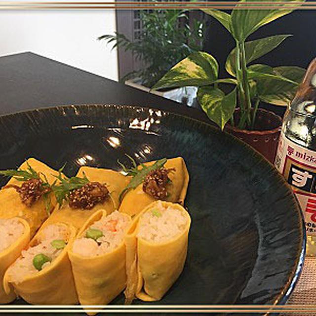 mizkanすし酢を使ってレッスンのランチはふくさ寿司~