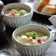 里芋のクリームスープ