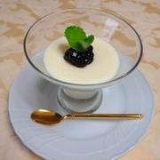 マシュマロの簡単レアチーズケーキ