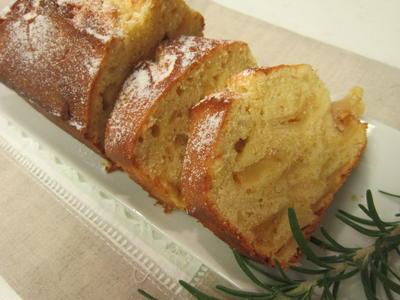 林檎&アーモンドのパウンドケーキ