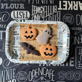 サクサク、ハロウィンクッキー(アーモンドパウダー使用)