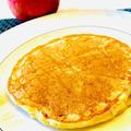 すりおろしたリンゴで簡単アップルパンケーキ