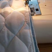 枕カバー縫ったよ