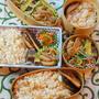 炊き込みご飯弁当&牡蠣の土手鍋風な夕食&壊れわっぱその後