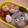 てんどんまん弁当♡キャラ弁♡簡単美味しい by manaママさん