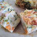 【レシピブログより】秋鮭を食べよう!混ぜて焼くだけ☆秋鮭のケークサレ