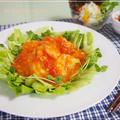 お豆腐でマイルドな辛さ☆トマトたっぷり♪ヘルシー海老チリ by strawberry-macaronさん