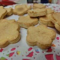 甘味料・小麦粉不使用☆ シナモン風味のおからソフトクッキー