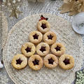 ホットケーキミックスで 星がキラキラクリスマスクッキー
