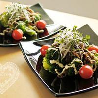 * 肉のいとう「仙台牛すき焼き煮&ブロッコリーのサラダ」 *