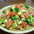 【掲載】くらしのアンテナ(レシピブログ)★生ハムのアボカドとブロッコリーのトマトマリネ♪
