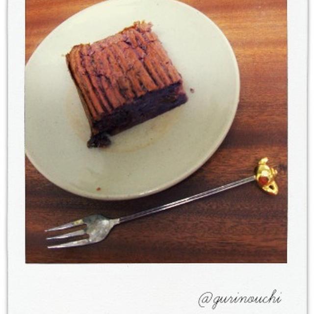 ラム酒香るさつまいものケーキ ~紫芋バージョン