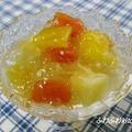 モニターレシピ〜トロピカルフルーツでふるふるゼリー