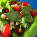 海老とパクチーのエスニックサラダ