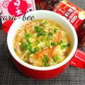 ご飯にもかけてもウマっ♪中華風かに玉とろみスープ by からあげビールさん