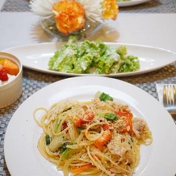 【和食】【洋食】休日のおうちごはん/Holiday Lunch and Dinner
