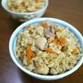 【簡単&節約レシピ】鶏肉の炊き込みご飯♪