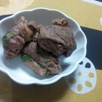 高野豆腐の肉巻