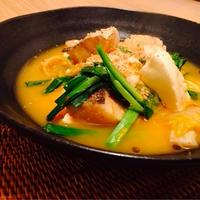 【妊活ごはん】鱈と豆腐のキムチ煮