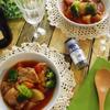 豚軟骨と根菜のトマトスープ