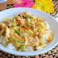 味付けは麺つゆだけ!残り野菜で 沖縄ちゃんぽん風 ☆