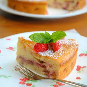 季節のフルーツで春色スイーツ!「いちごのチーズケーキ」レシピ