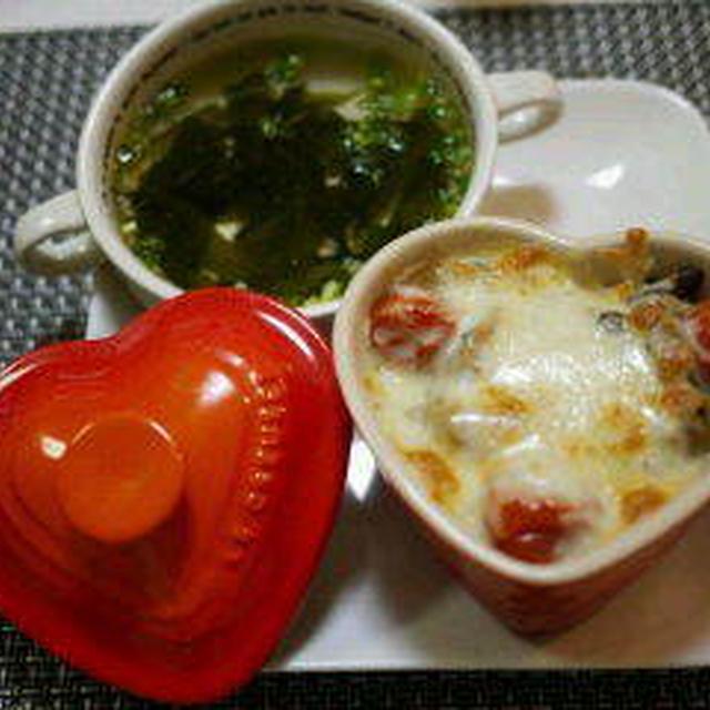 割烹白だしで簡単スープ