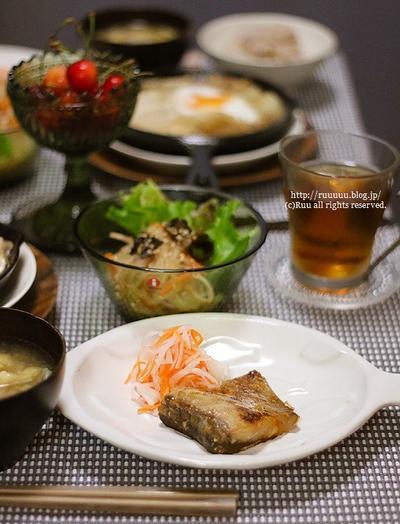 【レシピ】いなだの味噌漬け。~マンゴォォォォォォォォォ・・・ォォ?~