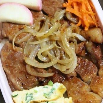 1月9日  豚の味噌漬け焼肉弁当