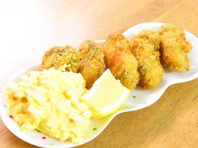 カリッとふっくら牡蠣フライ☆タルタル添え