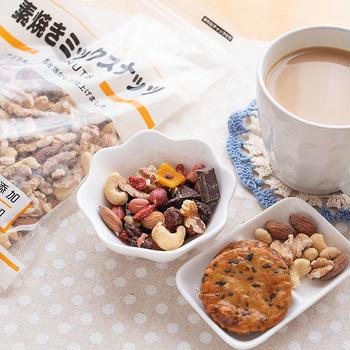 業務スーパーおすすめ品♪素焼きミックスナッツ(^○^)/