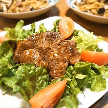 初☆鹿肉料理