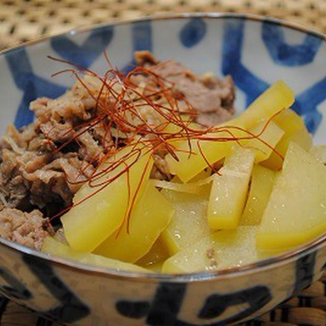 青パパイヤと 牛肉の 大和煮 ☆