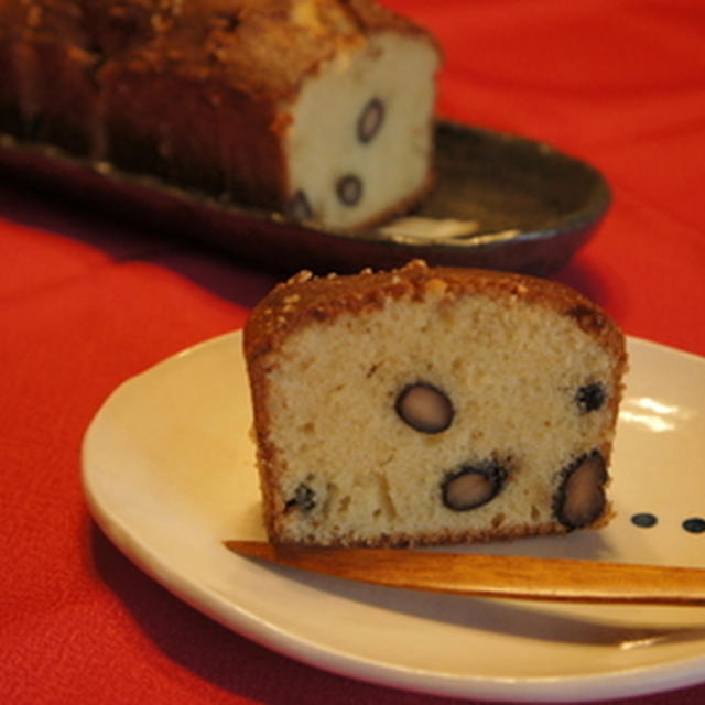 黒豆ときなこのパウンドケーキ
