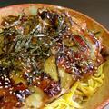 ガッツリ鶏照焼き丼 with 錦糸卵