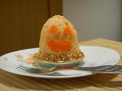 ケーキみたいなポテトサラダ・Halloween version