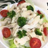 鶏胸肉のサラダ☆アジアン風味