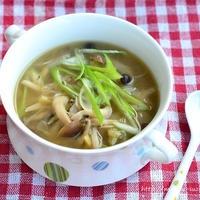 風邪の引き始めにいかがでしょうか? 身体が温まる簡単スープ
