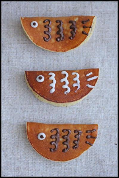 子供の日に♪ホットケーキミックスで簡単!モッちモチ鯉のぼりの若鮎