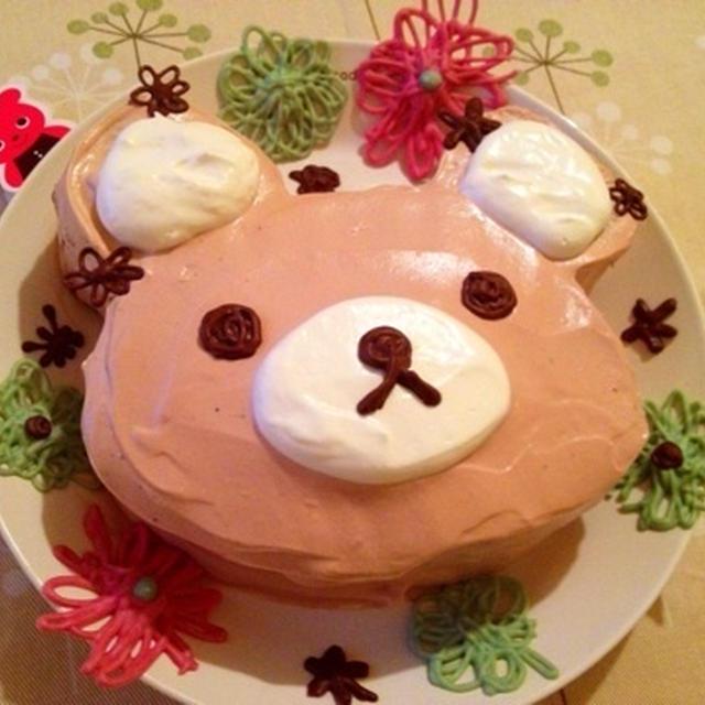 クリスマスケーキ*リラックマ チョコレートケーキ
