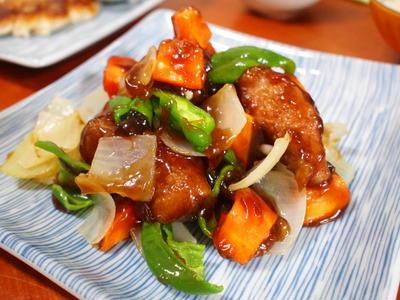 豚とろde黒酢酢豚