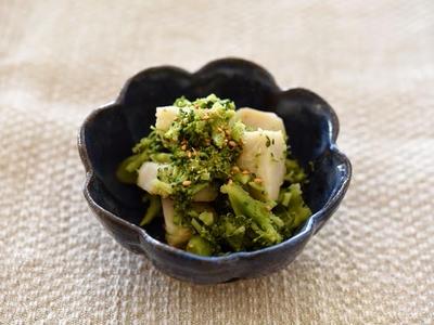 >ブロッコリーと里芋の和え物 <坂ノ途中コラボ和食レシピ10品目>  by 冨田ただすけさん