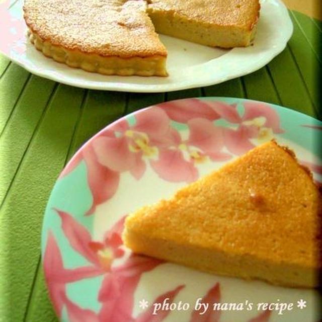 HMでバナナのクラフティ風ケーキ