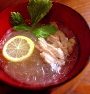 クック井上。レシピ【レモン風味の春雨ラーメン】