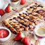【金賞受賞!】材料3つ♥いちごチョコパイ♥【 #すぐ出来 #おやつ #かわい 】トースター