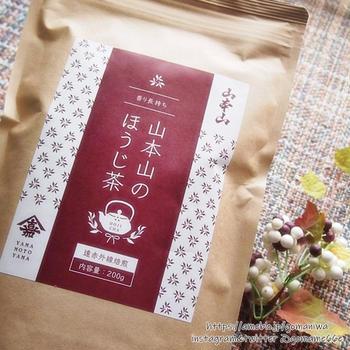 こうばしい香りに癒される 通販限定品 山本山のほうじ茶