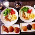 完食しちゃった8種の朝食パン(笑)~淡竹のオリーブオイルソテー~