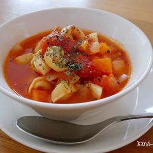 野菜のうまみが楽しめる♪おすすめ「ミネストローネ×パスタ」レシピ